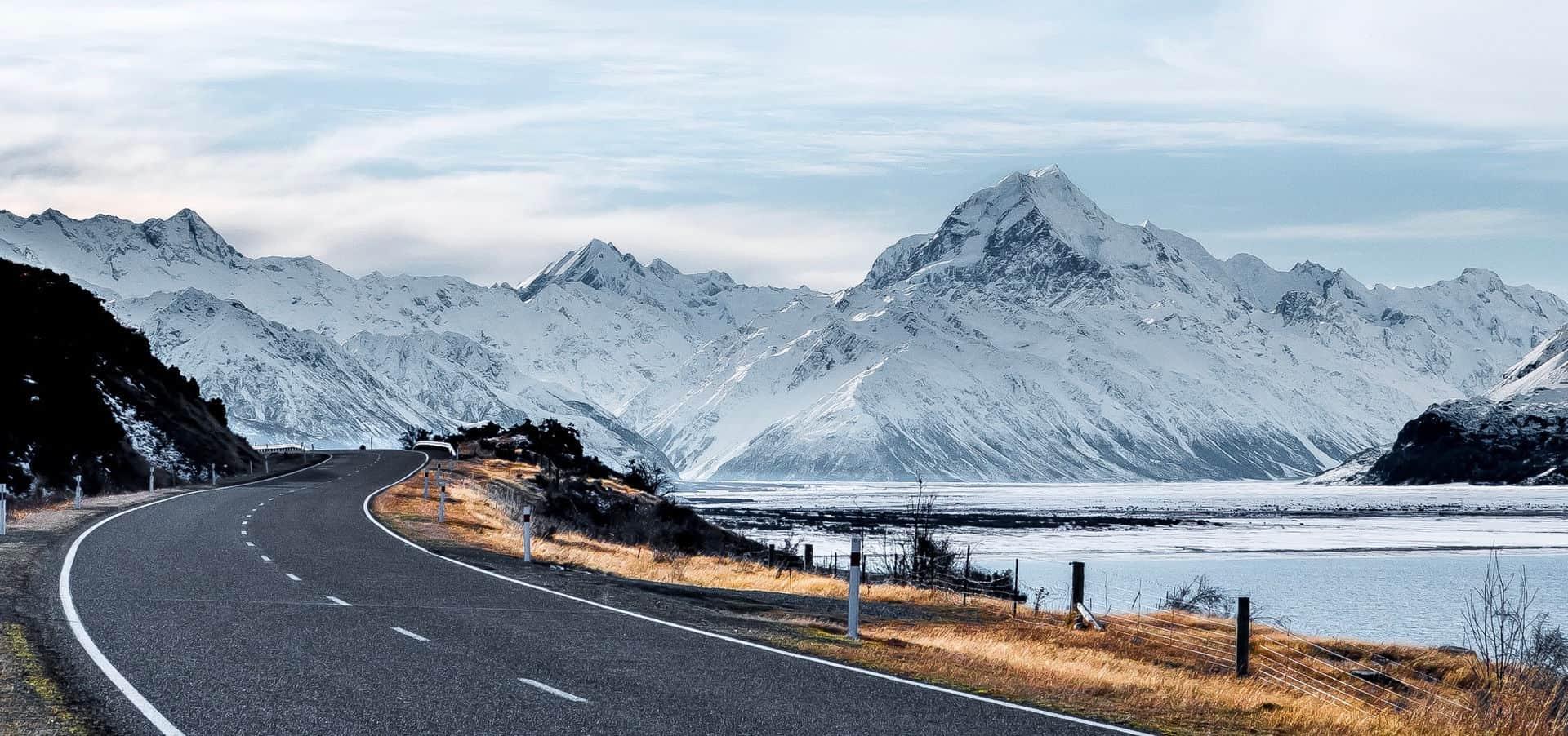 Droga, góry
