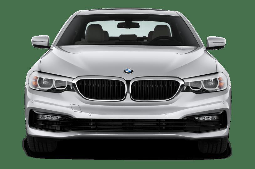 BMW Seria 5, sedan, srebrny